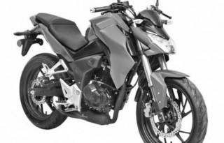 Bocoran desain paten motor terbaru Honda. (Visordown)
