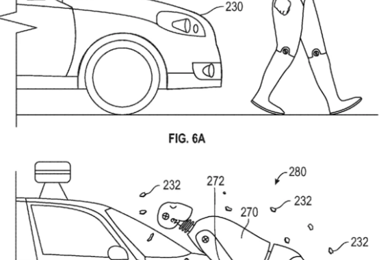 Google's adhesive layer patent. Photograph: United States Patent and Trademark Office