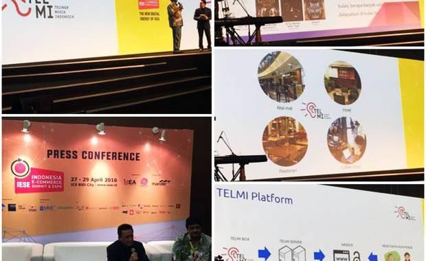 Jumpa pers peluncuran Telinga Musik Indonesia oleh Bekraf (twitter)
