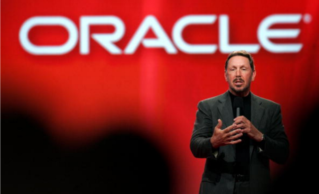 Former Oracle CEO Larry Ellison, pictured here speaking at a conference in 2006, was one of many execs to take the stand in Oracle v. Google (Photo : Justin Sullivan / Getty Images)