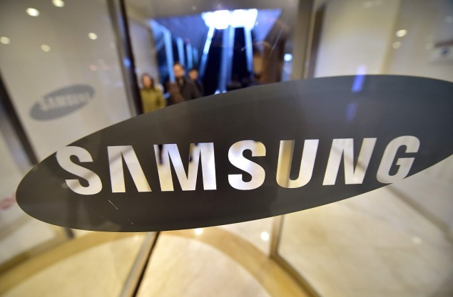 Samsung menuntut Huawei. (AFP PHOTO / JUNG YEON-JE)