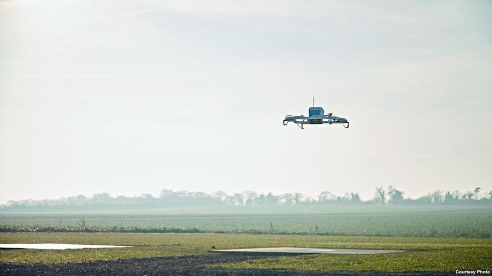 Amaazon berkeinginan untuk menggunakan drone tidak hanya untuk pengiriman barang, namun juga untuk gudang terbang. (Foto: Amazon)